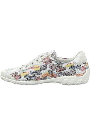 Remonte Damen R3435 Sneaker, Ice/Weiss-Multi / 91