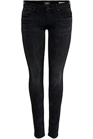 Only ONLY Damen Onlfcoral Sl Sk Jns Bb Az141700 Noos Jeans, Schwarz (Black Denim)