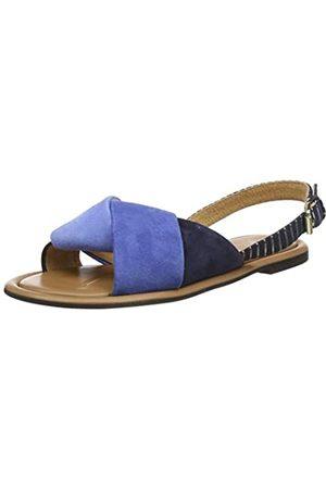 Joules Tom Joule Damen Palmer Knöchelriemchen Sandalen, (Blue Blue)