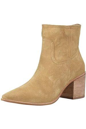 KAANAS Damen Pigato Pointy Western Style Fashion Heeled Bootie Stiefelette