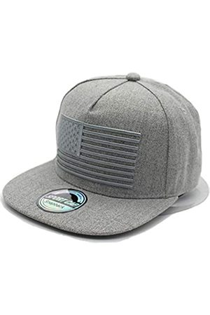 SINLOOG SINLOOG Unisex Baseball Caps Snapback Cap mit USA Flagge Flat Bill Brim Dad Hat, Unisex-Erwachsene