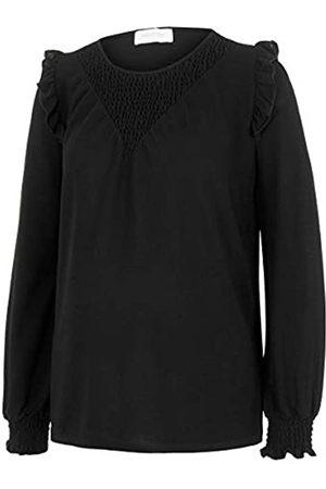 Mama Licious Damen MLENISE L/S Jersey TOP A. Langarmshirts, Black
