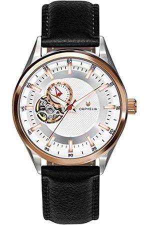 ORPHELIA Herren Analog Automatik Uhr mit Leder Armband OR91802
