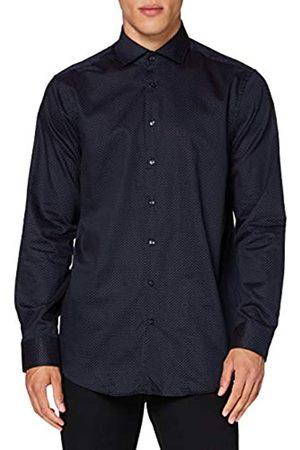 Seidensticker Herren Business Hemd - Bügelleichtes Hemd mit geradem Schnitt - Regular Fit - Langarm - Kent-Kragen - 100% Baumwolle