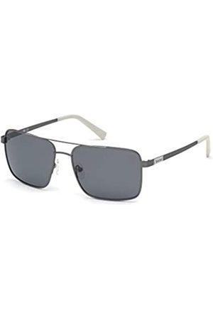 Timberland Eyewear Timberland Eyewear Herren TB9187 Sonnenbrille, Matte Gunmetal/Smoke Polarized