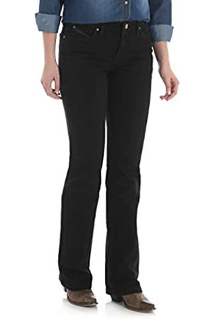 Wrangler Wrangler Damen Q-Baby Mid Rise Boot Cut Ultimate Riding Jeans - - 1W x 32L