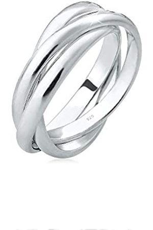 Elli Elli Ring Damen Wickelring Basic in 925 Sterling