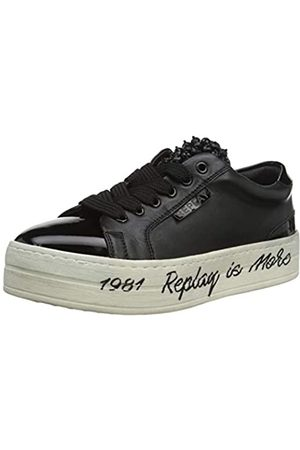 Replay Damen VIRDEN Sneaker, (003 Black)