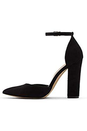 Aldo Damen Women's Dress Shoes with Block Heels, Nicholes in Black, Size 11 Pumps