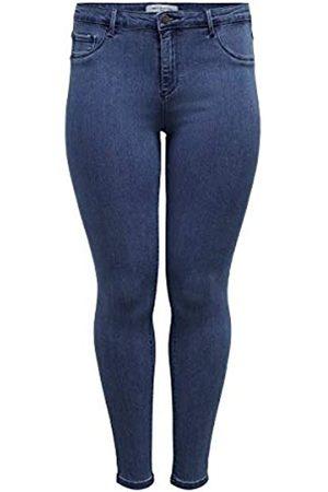 Carmakoma Female Skinny Fit Jeans Curvy Thunder Push Reg 48Medium Blue Denim