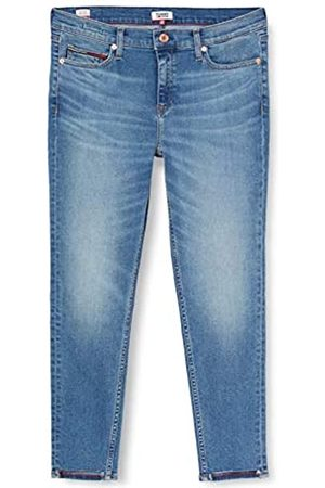 Tommy Hilfiger Tommy Jeans Damen Nora Mid Rise Skinny Ankle Dymd Straight Jeans