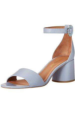 Emporio Armani Damen Block Heel Ankle Strap Sandalen mit Absatz
