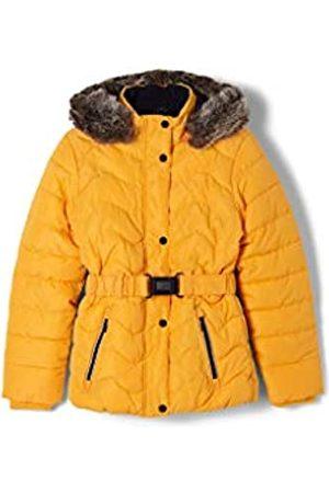 s.Oliver Mädchen Steppjacke mit Fleece-Futter light orange L