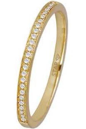 Stardiamant Ringe - Ring - 56