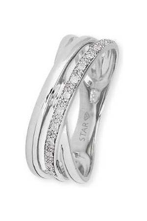 Stardiamant Ringe - Ring - Brillant Weißgold 585 - D6483W
