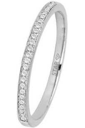 Stardiamant Ringe - Ring - Brillant Weißgold 585 - D6434W
