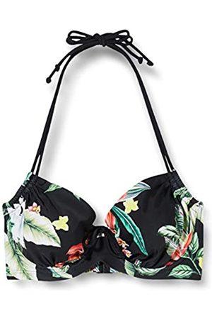Pour Moi Damen Miami Brights Adjustable Halter Underwired Top Bikini