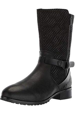 SOFTWALK Women's Marlowe Motorcycle Boot, Black