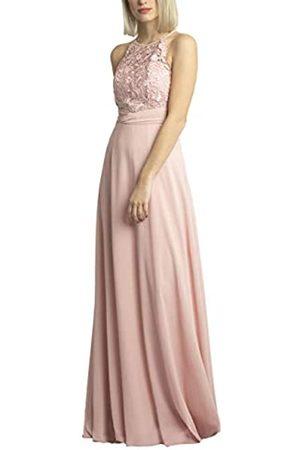 Apart APART Bezauberndes Damen Kleid lang, Abendkleid, Ballkleid, transparente Spitze teilweise Blickdicht unterlegt, Empire Style