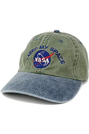 Armycrew NASA I Need My Space bestickte Kappe aus gewaschener Baumwolle, Einheitsgröße