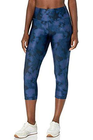 Amazon Damen Performance Capri Legging, Blau(Blaue Tintenfarbe)