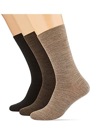 Hom Herren, 3Er Pack Socken Aus Hochwertiger Wolle