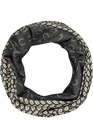 Codello Damen Loop Schal, Unisex Loop, Schlauchschal, Mundschutz, Kaffeebohne mit Monogramm, aus 100% recyceltem Polyester, CU80101-19