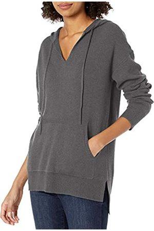 Daily Ritual Damen Sweatshirts - Ultra-Soft Milano Stitch Drawstring Hoodie Sweater Sweaters