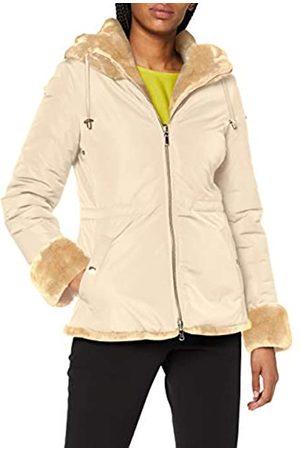 Geox Womens W Kaula Faux Fur Coat