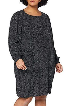Carmakoma Damen CARFIX LS Knee Dress Kleid