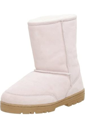 Chooka Damen Shearling Low Boot, Pink