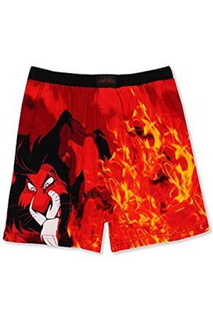 Disney Herren Boxershorts - The Lion King Scar Hyenas Mens Briefly Stated Boxer Lounge Shorts