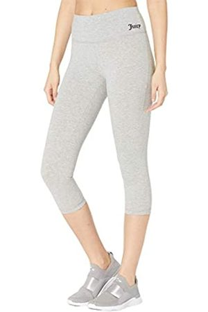 Juicy Couture Damen Essential High Waisted Cotton Crop Leggings