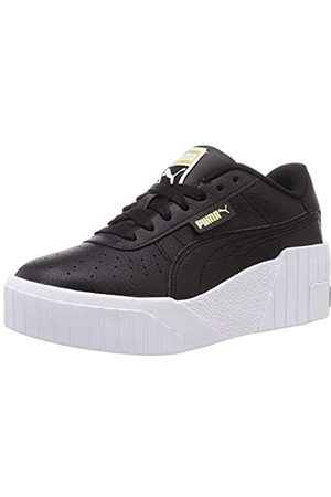 PUMA Damen Cali Wedge Wn S Sneaker, Black White