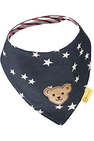 Steiff Mädchen Handschuhe - Baby-Mädchen mit süßer Teddybärapplikation Halstuch 2er Pack, Navy