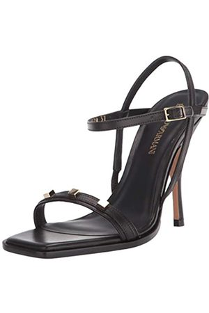 Emporio Armani Damen High Heel Strappy Sandalen mit Absatz