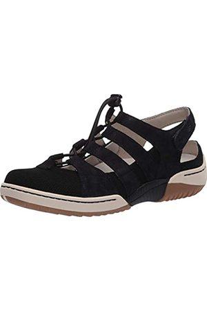 Dansko Women's Riona Black Sandal 5.5-6 M US