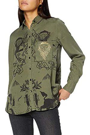 Desigual Womens CAM_LIONSLOVE Shirt