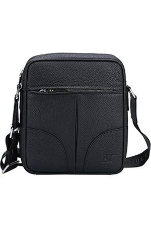 Banuce Umhängetasche aus Leder für Herren, kleine Umhängetasche, Umhängetasche, Umhängetasche, 24,6 cm (9,7 Zoll) iPad, ( 1)