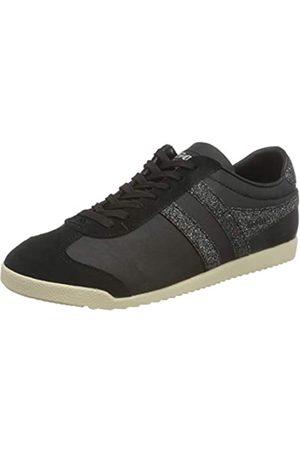 Gola Damen Bullet Glitter Sneaker, Black