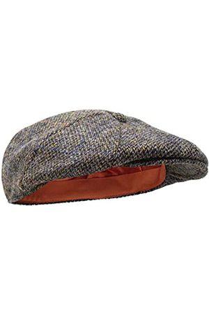 Borges & Scott Herren Hüte - Dingwall Schirmmütze 8-TLG. – Schiebermütze Herren aus 100% handgewebter Wolle Harris Tweed - Wasserabweisend - 60cm