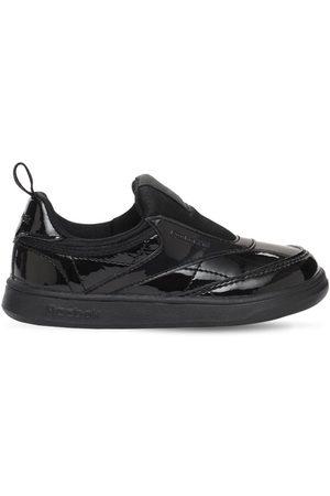 """Reebok Slip-on-sneakers Aus Lackleder """"club C"""""""