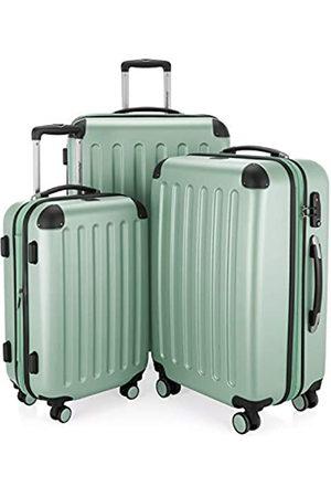 Hauptstadtkoffer HAUPTSTADTKOFFER - Spree - 3er Koffer-Set Trolley-Set Rollkoffer Reisekoffer Erweiterbar, TSA, 4 Rollen, (S