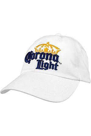 Tee Luv Tee Luv Corona Light Hat – Corona Beer Logo Baseball Cap (weiß)