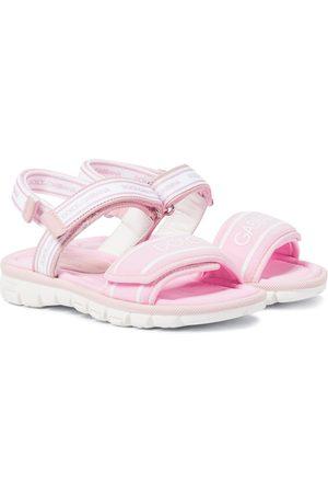Dolce & Gabbana Kids Sandalen aus Scuba
