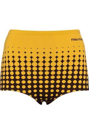Miu Miu Shorts aus Jersey