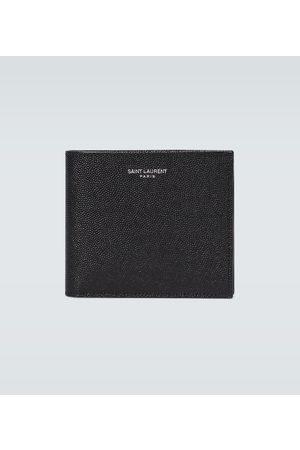 Saint Laurent Geldbörsen & Etuis - Portemonnaie aus Leder