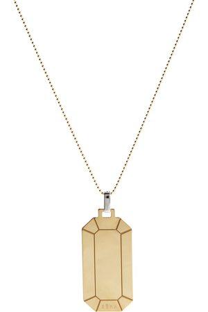 EÉRA Halskette Tokyo Big aus 18kt Gelbgold mit Diamanten