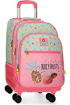 Enso Enso Juicy Fruits 4W Rollbarer Rucksack Mehrfarbig 32x44x21 cms Polyester 29.57L