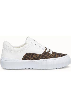 Fendi Low Top Sneaker Aus Stoff In